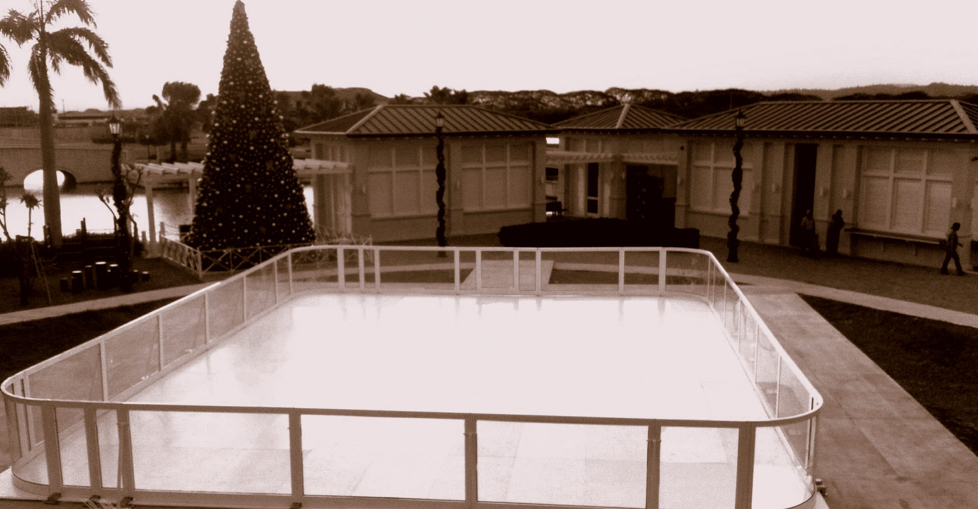 Ice Skating Setup in India