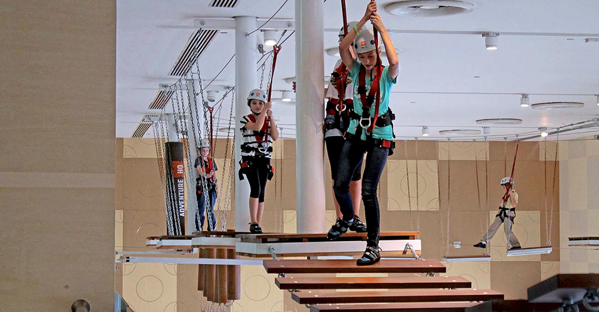 Indoor Ropecourse Setup in India