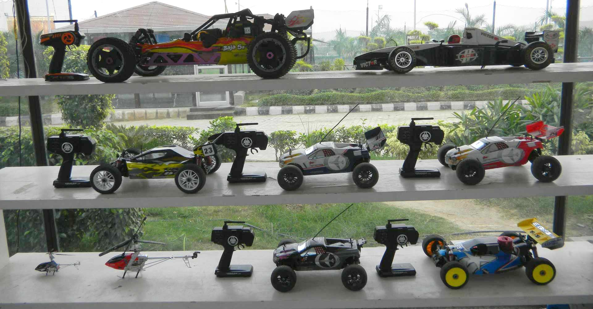 Remote control car track Building in india