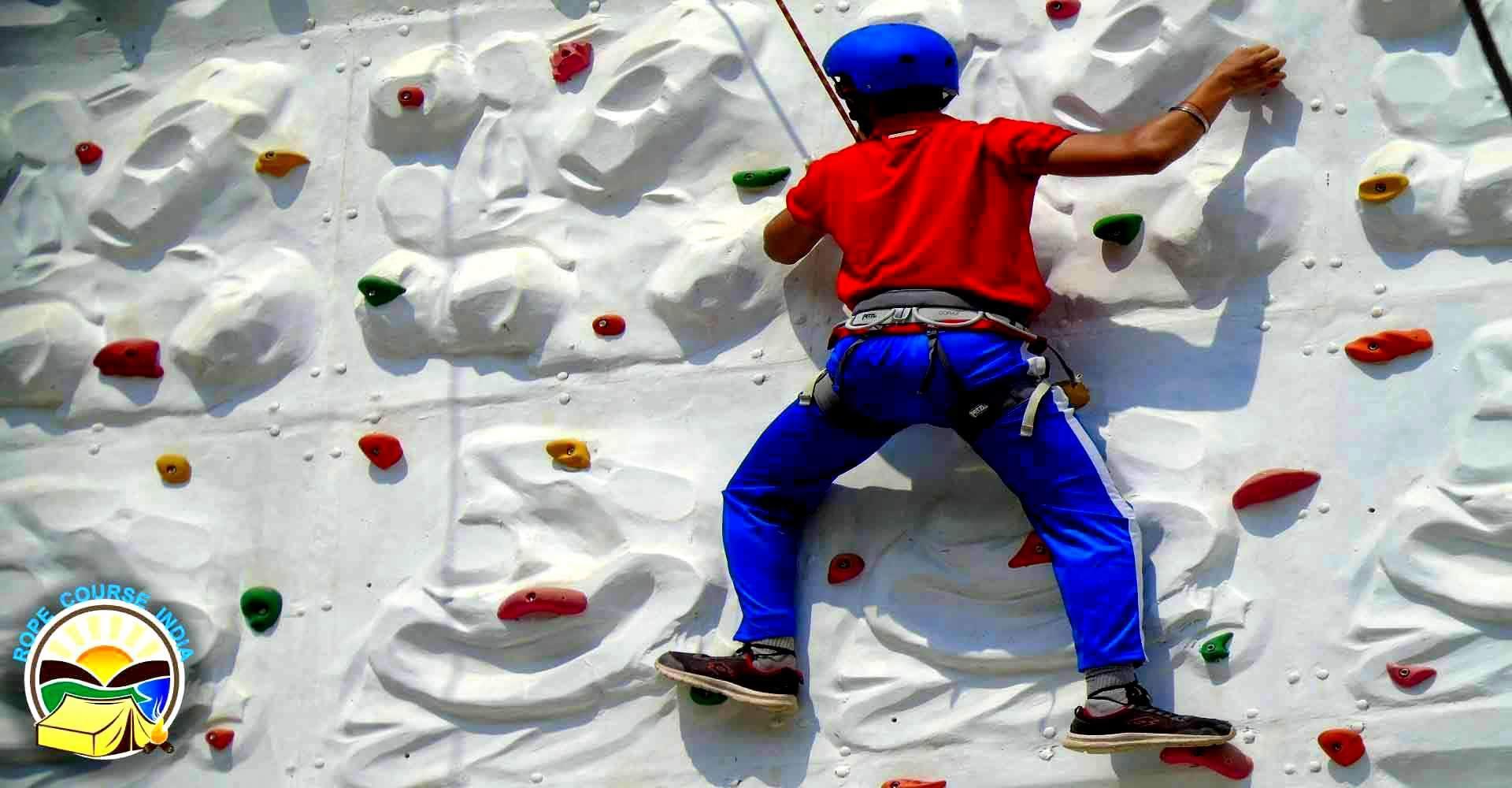 Rock climbing setup in india