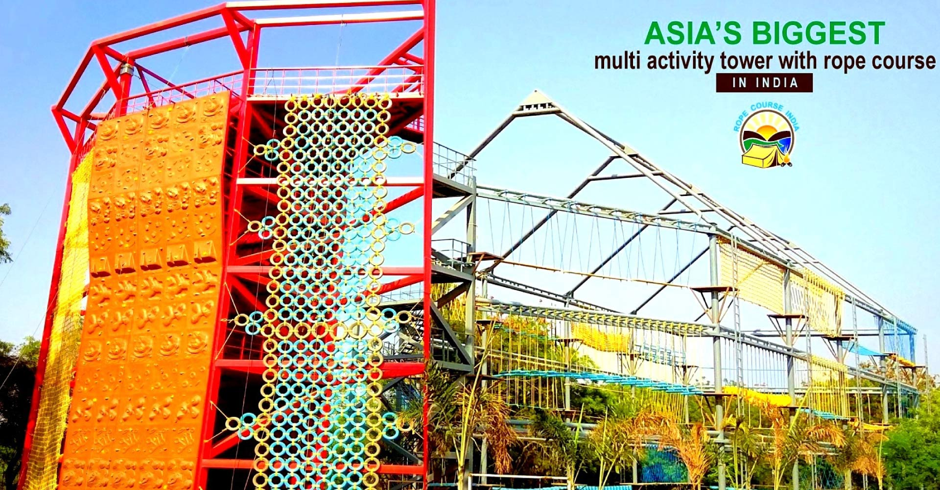 Rope course Construction In India
