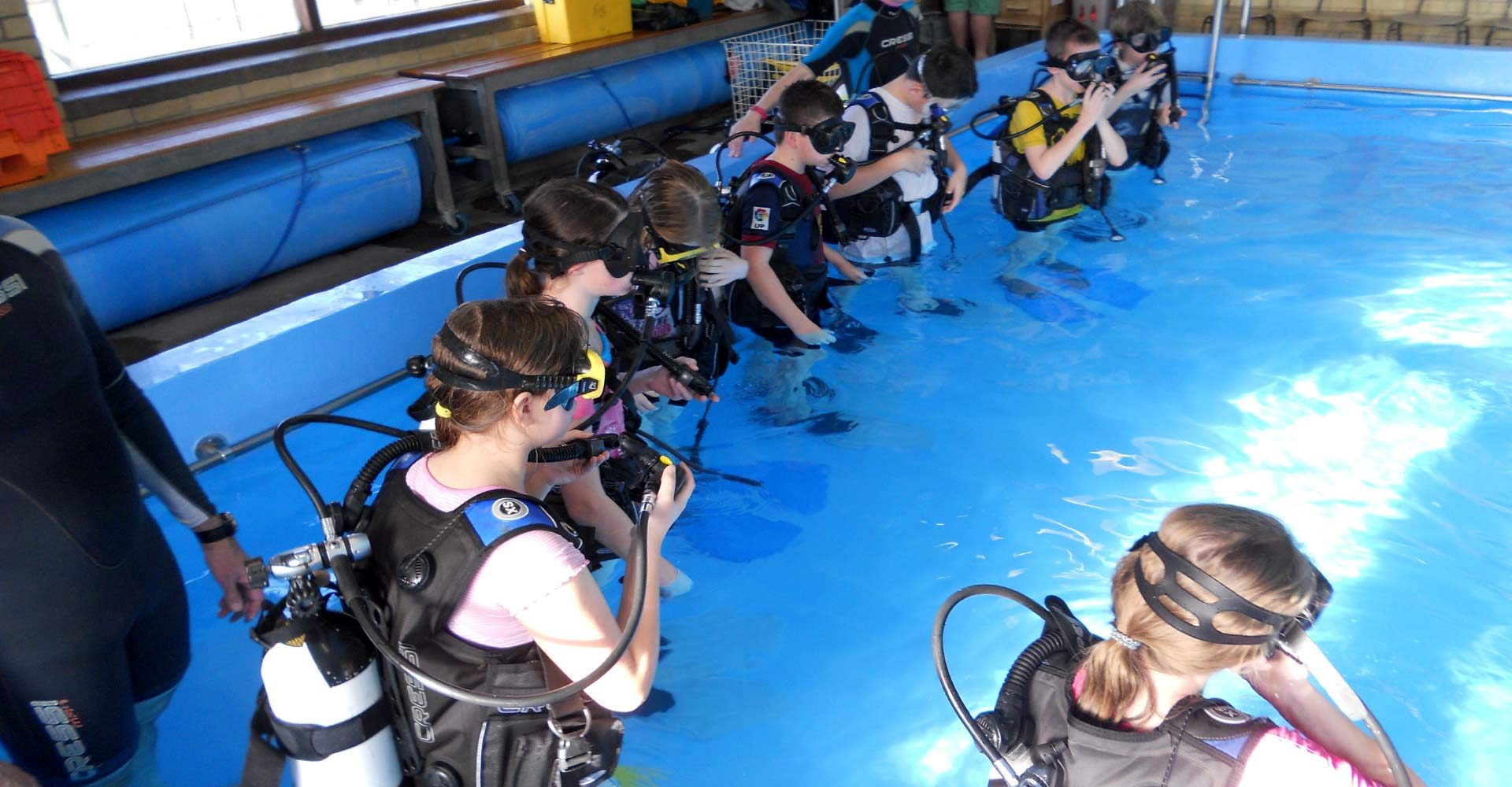 Scuba diving setup in india