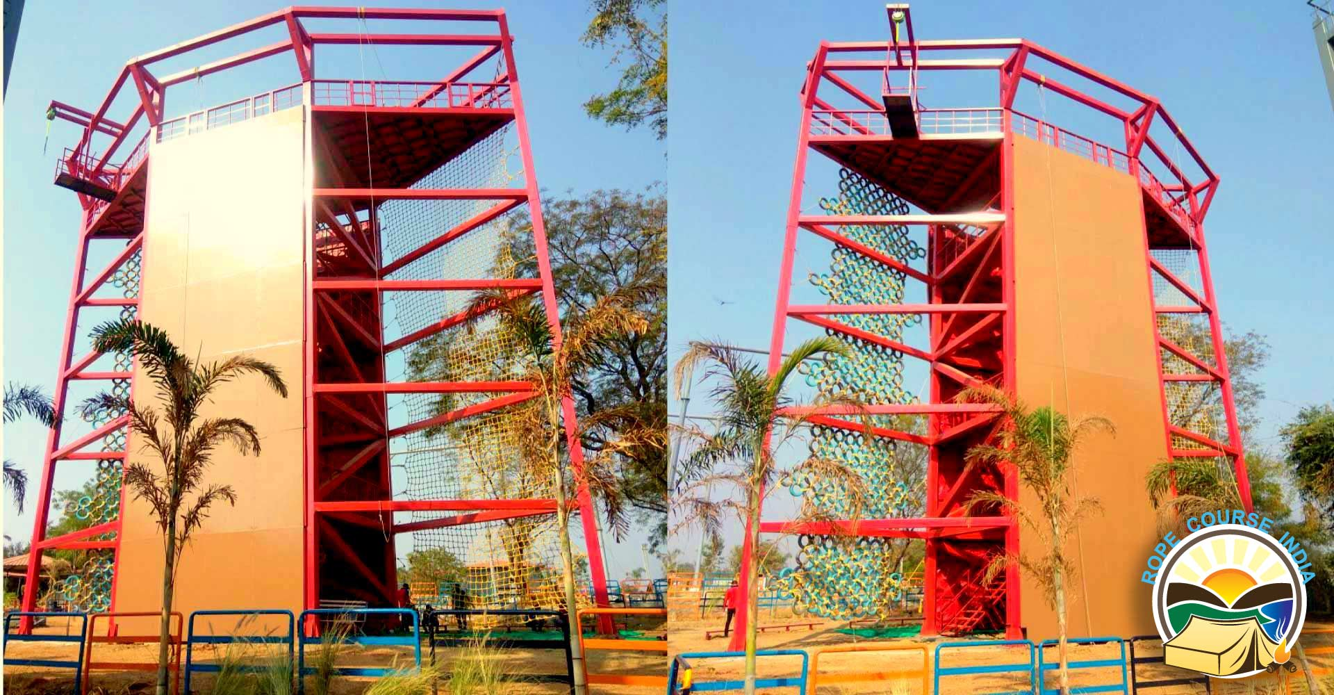 RAPPELLING TOWER IN INDIA