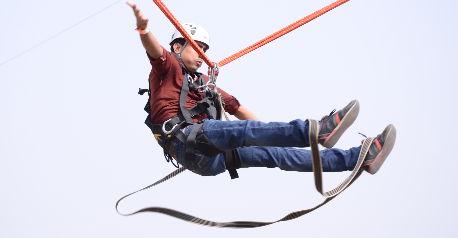 Human Slingshot Construction in india